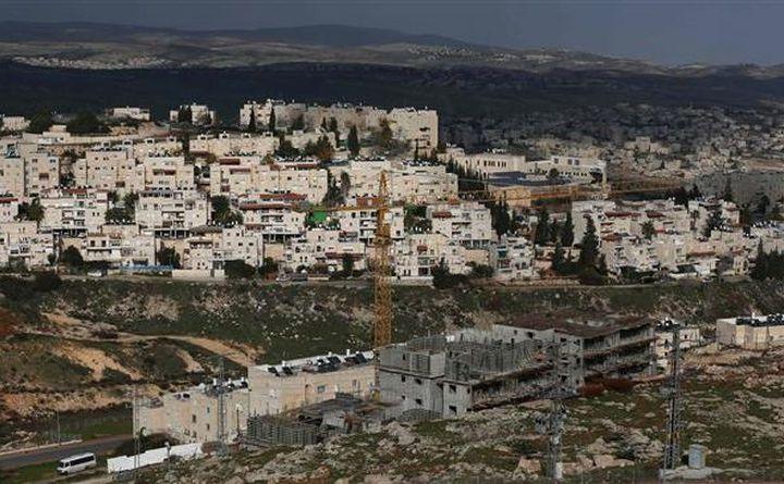 Colonii ilegale israeliene în construcţie în Ierusalimul de Est, 15 ianuarie 2016.