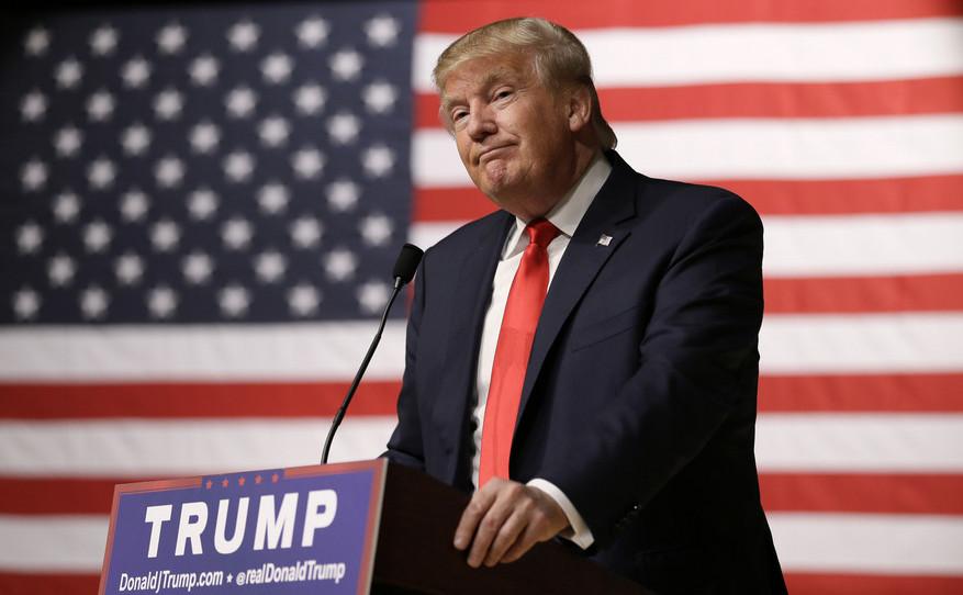 Miliardarul american Donald Trump.