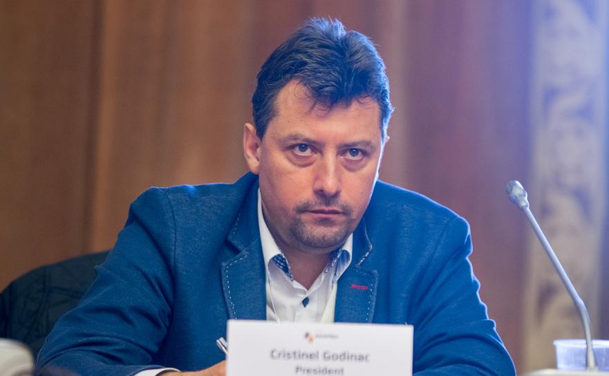Cristian Godinac,preşedintele Mediasind