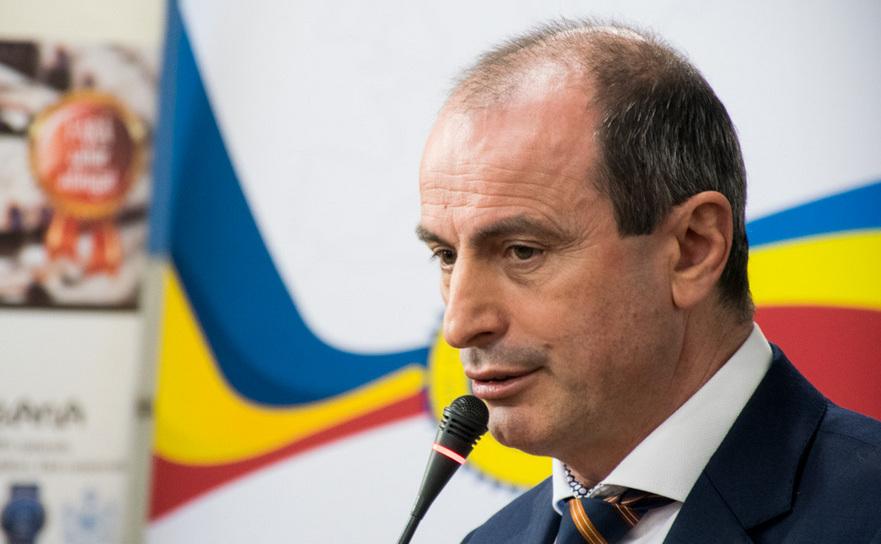 Achim Irimescu, Ministrul Agriculturii şi Dezvoltarii Rurale.