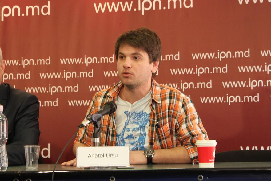 Anatol Ursu, unul din organizatorii marşului unionist de la 27 martie
