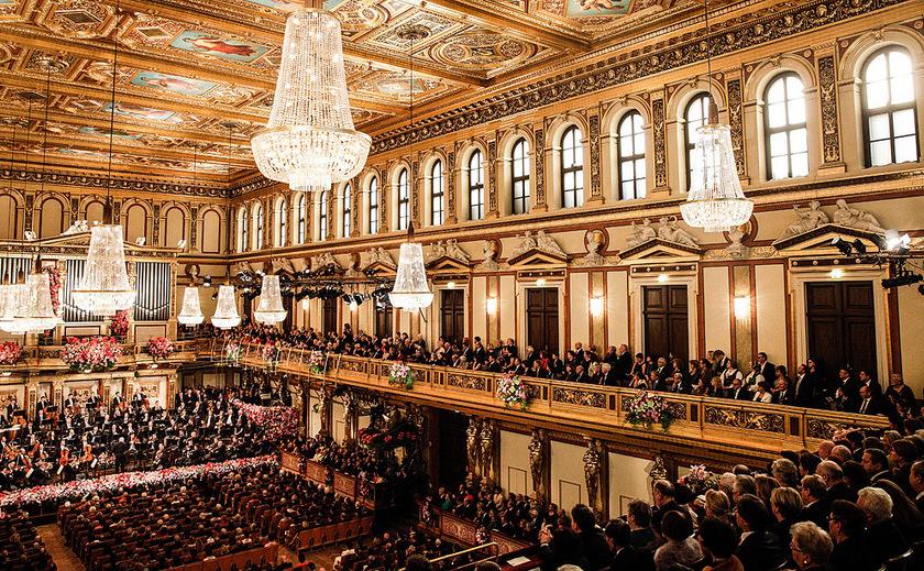 Filarmonica din Viena- sala de concerte