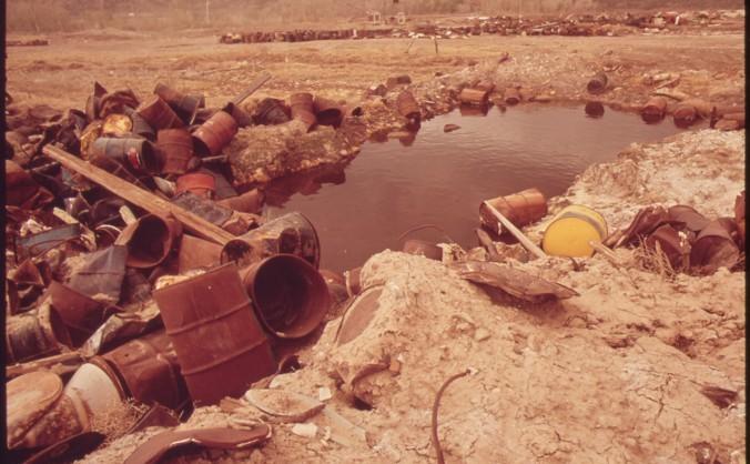 O fostă exploatare de uraniu din Rifle, Colorado