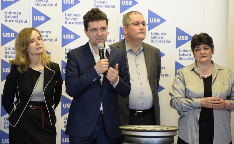 Lansarea candidaţilor USB la primăriile de sector.