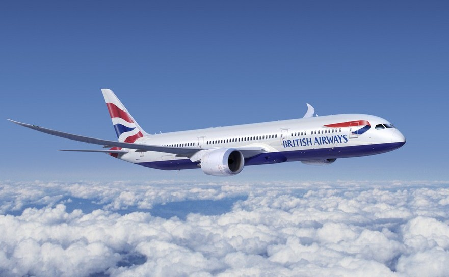 Avion al companiei British Airways.