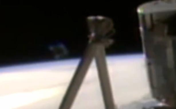 Obiect neidentificat apare pe o transmisie NASA, care mai apoi este întreruptă brusc, fără motiv