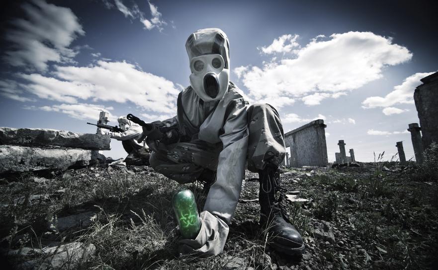 Costum de protecţie bacteriologică