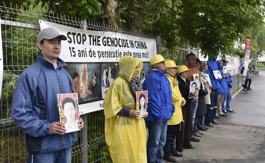 Protest Pasnic La Ambasada Chinei Din Capitală Marchează 17 Ani De