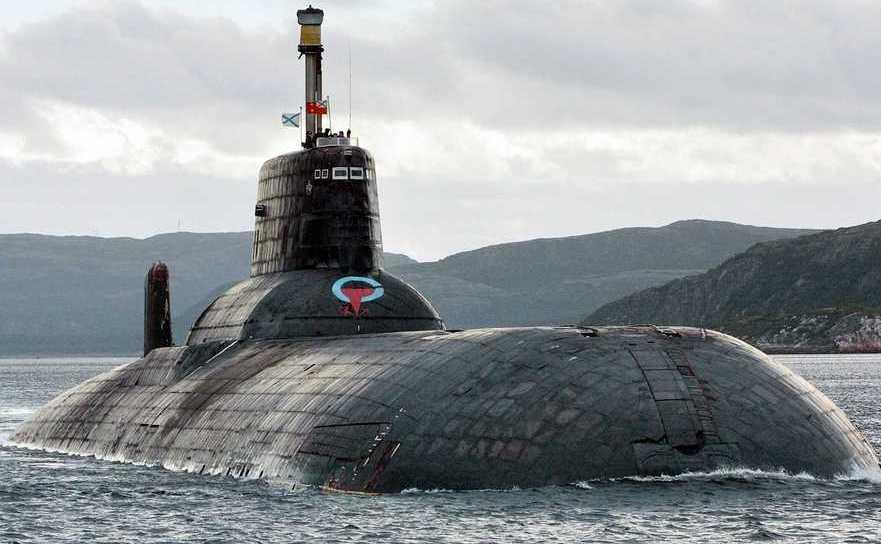 Submarinul rusesc Dmitri Donskoi. Rusia dezvoltă drone-submarin capabile nuclear.