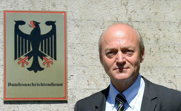 Şeful agenţiei germane de spionaj BND, Gerhard Schindler.