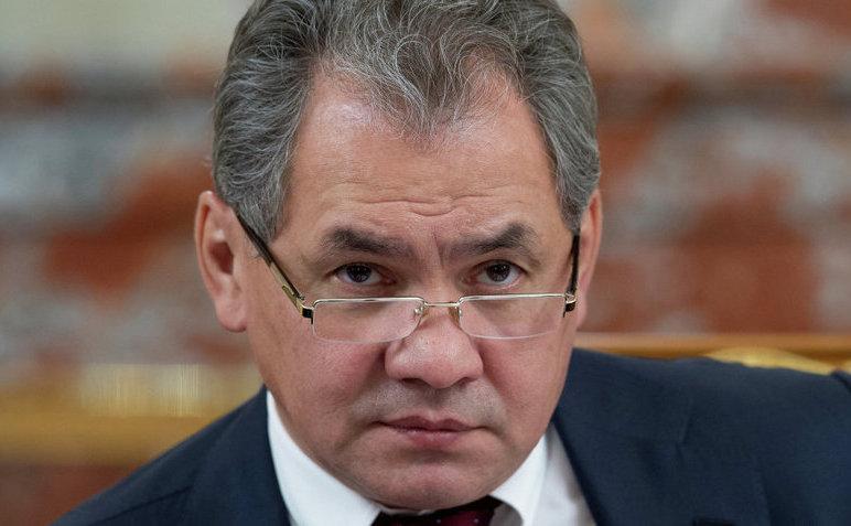 Ministrul rus al apărării Serghei Şoigu.