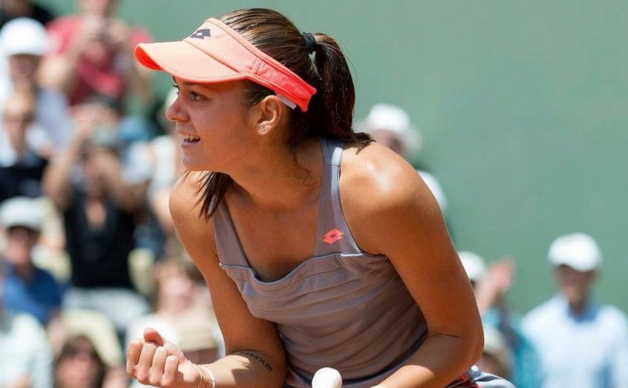 Tenismana română Andreea Mitu