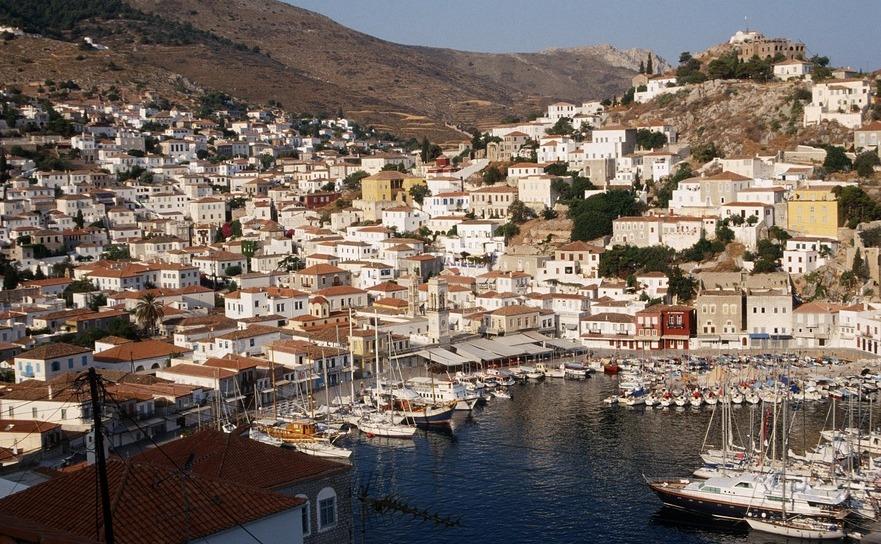 Locuri Minunate Unde Nu Circulă Masini Insula Hydra Din Grecia