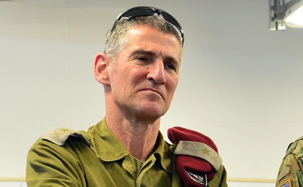 Generalul maior israelian Yair Golan