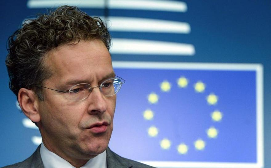 Jeroen Dijsselbloem, preşedintele Eurogrupului.