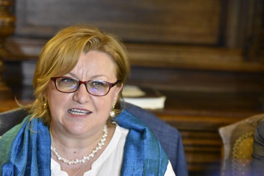 Ministrul Culturii Corina Şuteu la sediul OAR, 12 mai 2016