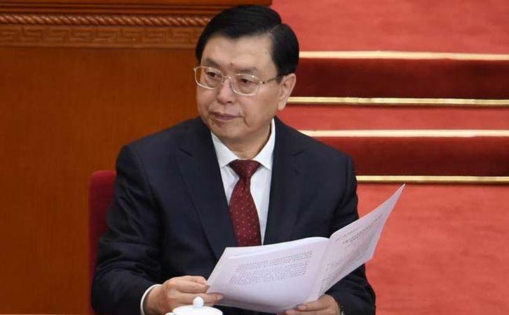 Zhang Dejiang, preşedintele Comitetului Permanent al Adunării Naţionale Populare a Republicii Populare Chineze.