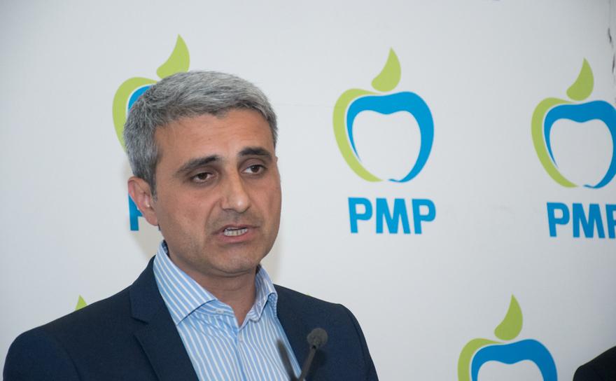 Robert Turcescu, conferinţă de presă PMP