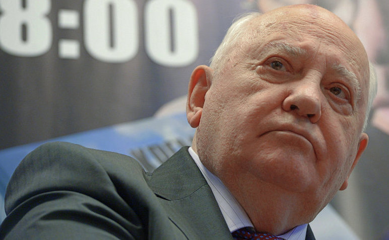 Fostul lider sovietic Mihail Gorbaciov.