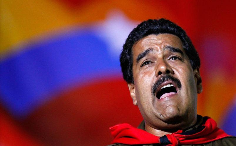 Dictatorul venezuelean Nicolas Maduro.