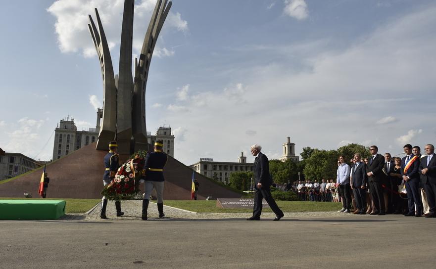 Inaugurarea monumentul Aripi, 30 mai 2016