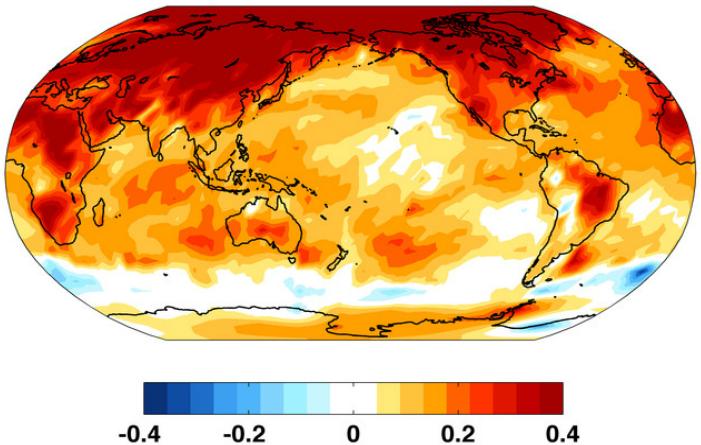 Apele adânci şi centenare ale oceanului Antarctic îl împiedică să se încălzească