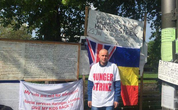 Florin Barbu, în greva foamei