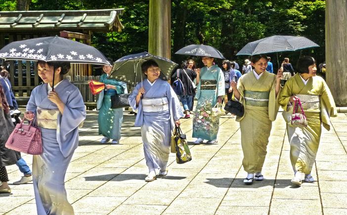 Femei japoneze
