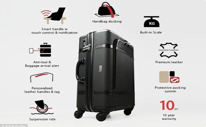 Super valiza Floatti