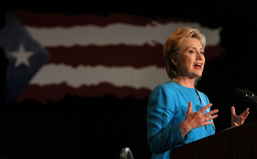 Fostul secretar de stat american Hillary Clinton.