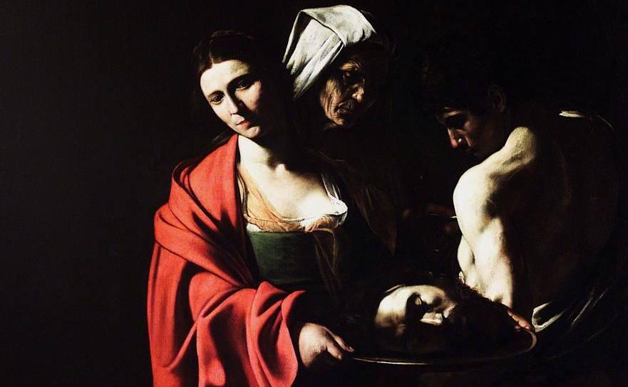 Salome cu capul ui Ioan Botezătorul pe o tavă de argint