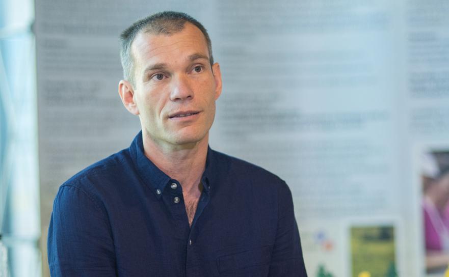 Andrei Blumer(Presedintele Asociatiei Ecoturism Romania)