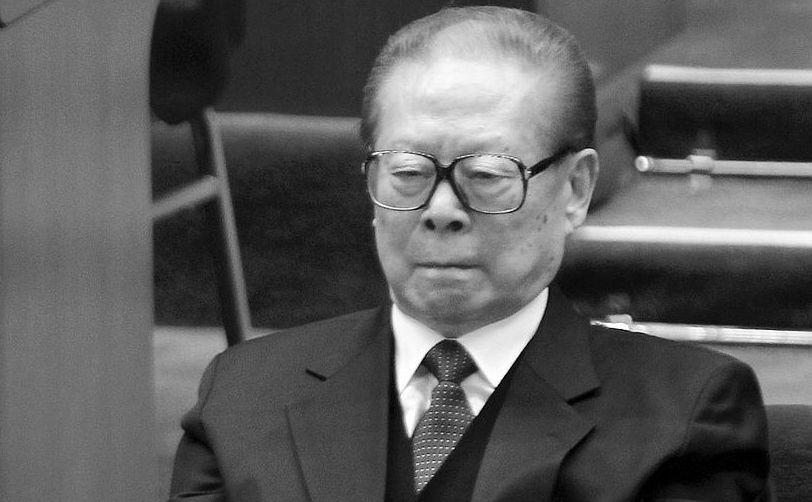 Fostul lider comunist chinez Jiang Zemin.
