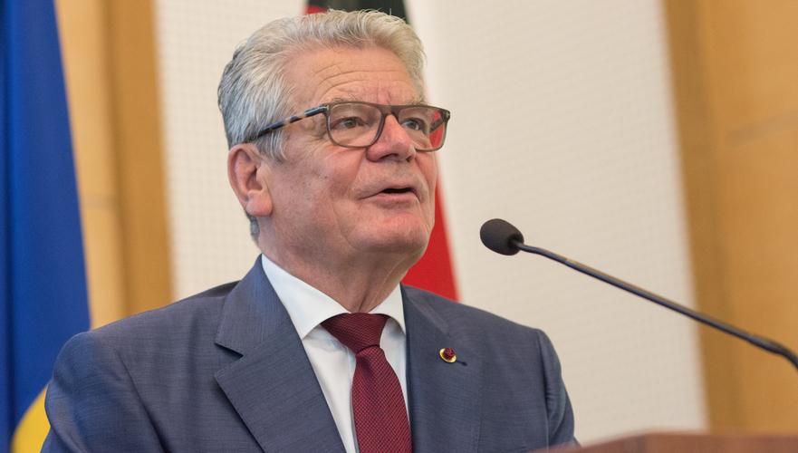 Joachim Gauck(Preşedintele Germaniei)
