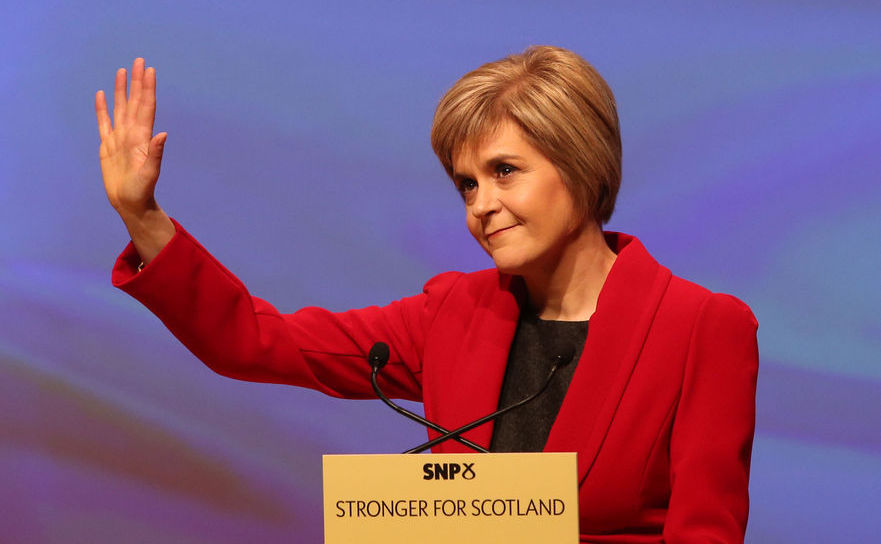 Premierul scoţian Nicola Sturgeon.