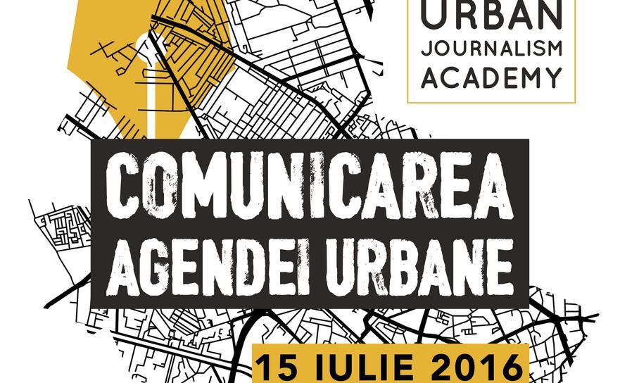 """Afişul evenimentului """"Comunicarea agendei urbane"""""""