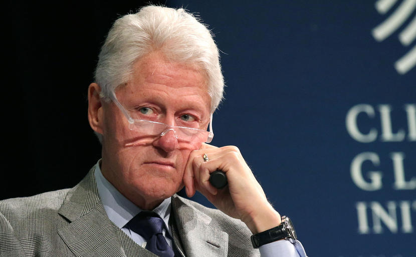 Fostul preşedinte american Bill Clinton.