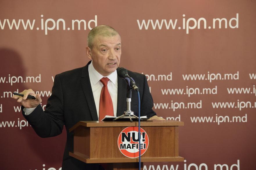 Sergiu Mocanu, liderul Mişcării Populare Antimafie
