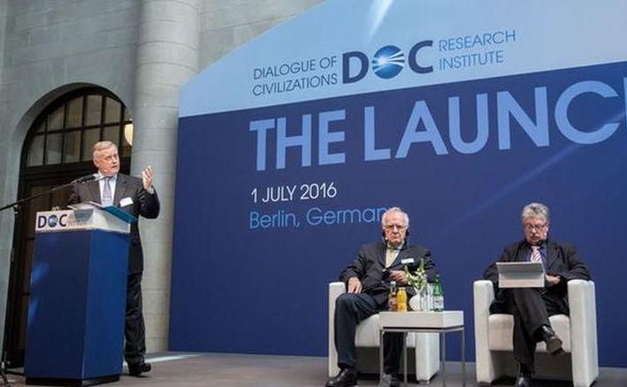Vladimir Ianukin participă la deschiderea institutului DOC la Berlin, 1 iulie 2016.