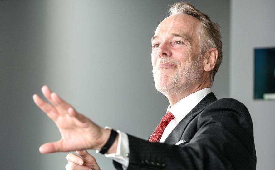 David Folkerts-Landau, economistul şef al Deutsche Bank.
