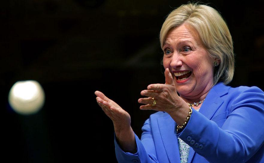 Hillary Clinton, 12 iulie 2016 în New York City