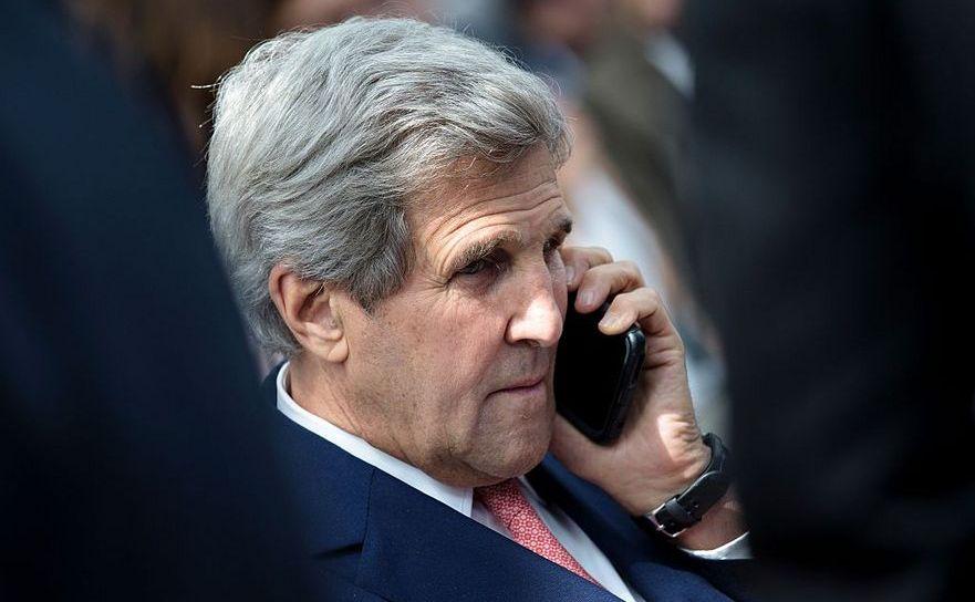 Secretarul american de stat John Kerry