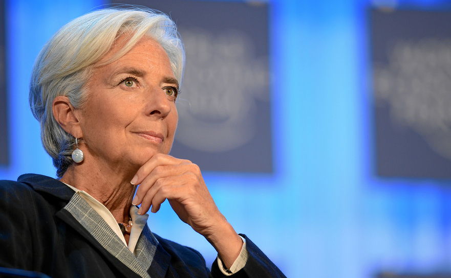 Christine Lagarde, directorul general al FMI.