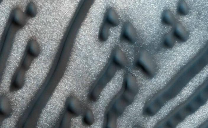"""Imagini ale """"mesajului în Morse"""""""