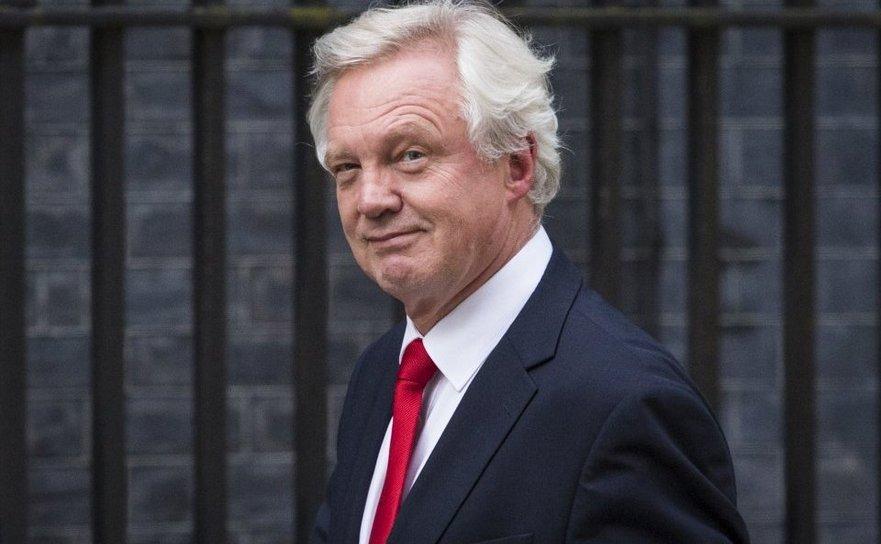 David Davis, secretar de stat pentru ieşirea Marii Britanii din Uniunea Europeană.