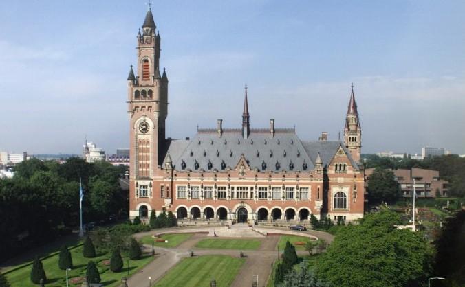 Palatul Păcii din Haga, Olanda, sediul Curţii Internaţionale de Justiţie