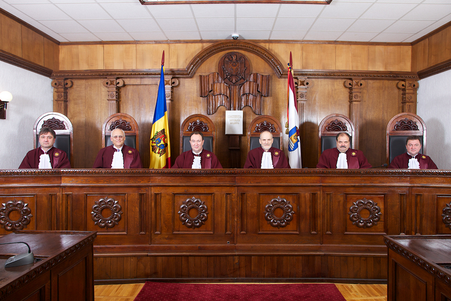 Magistraţii de la Curtea onstituţională a Moldovei