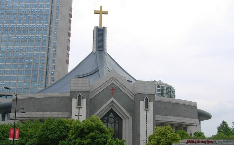 Biserica Chongyi din Hangzhou,  China.