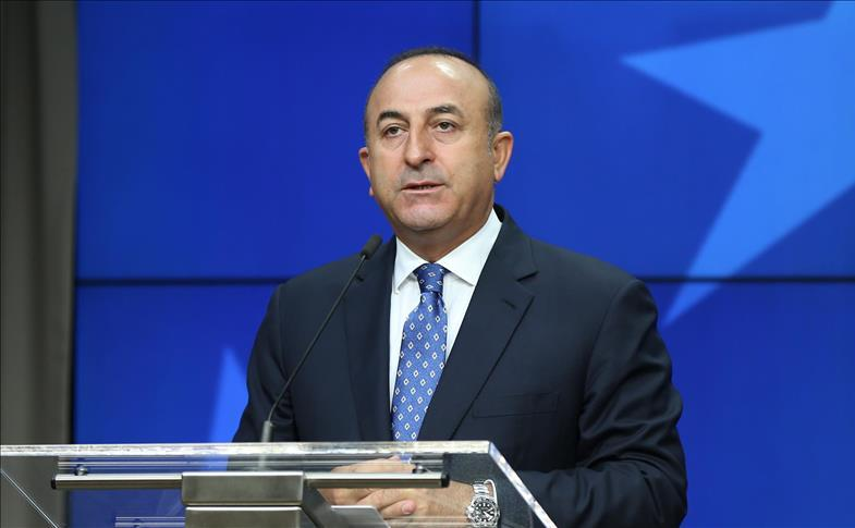 Ministrul turc de externe, Mevlut Cavusoglu.