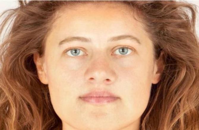 Reconstrucţie facială de «Ava»